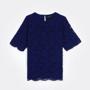Lace Boxy Top