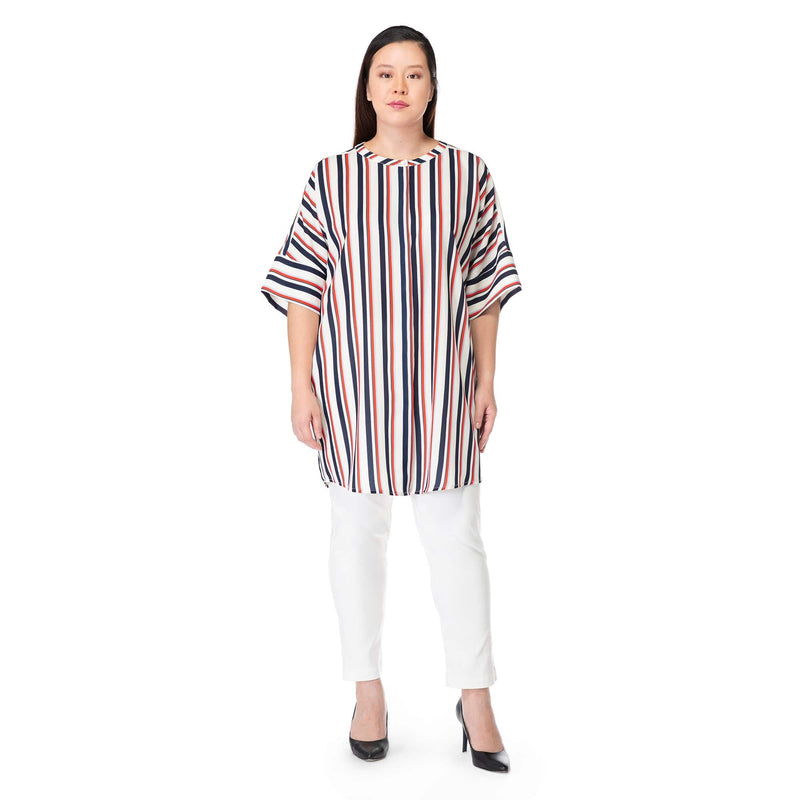 Long Line Stripe Tunic