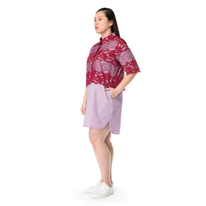 Long Line Lace Shirt