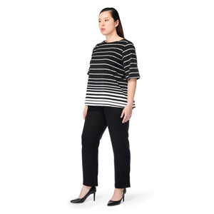 Stripes Boxy Top