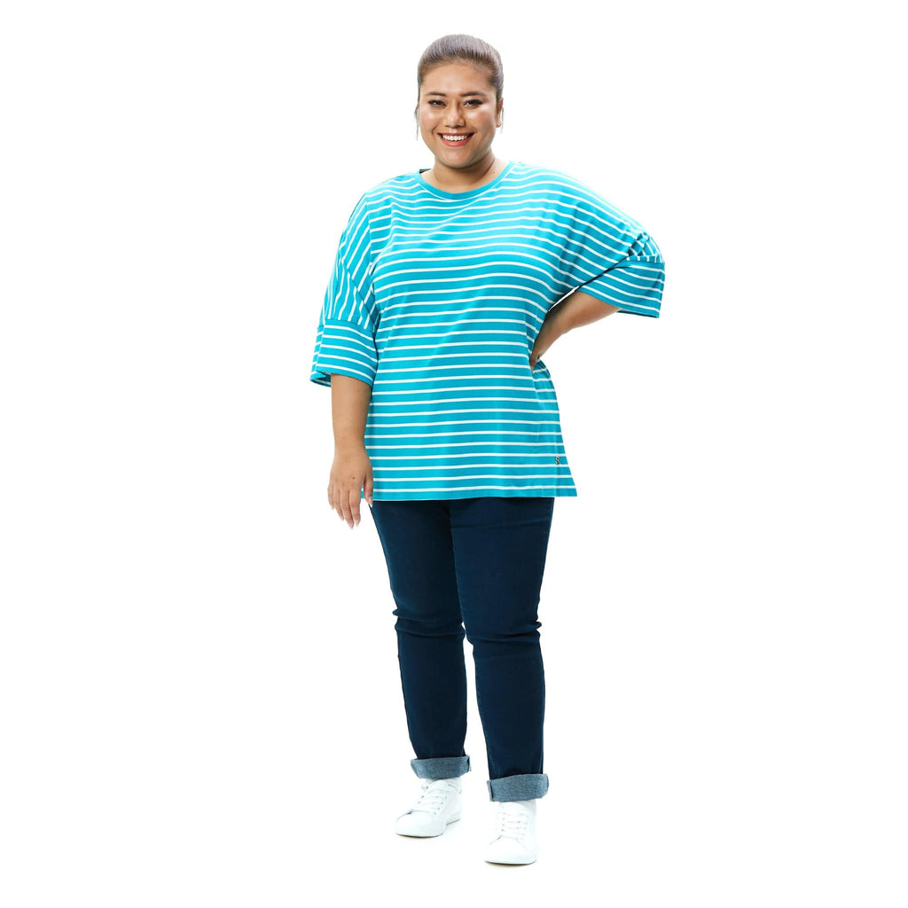 Three Quarter Sleeve Dolman Tee