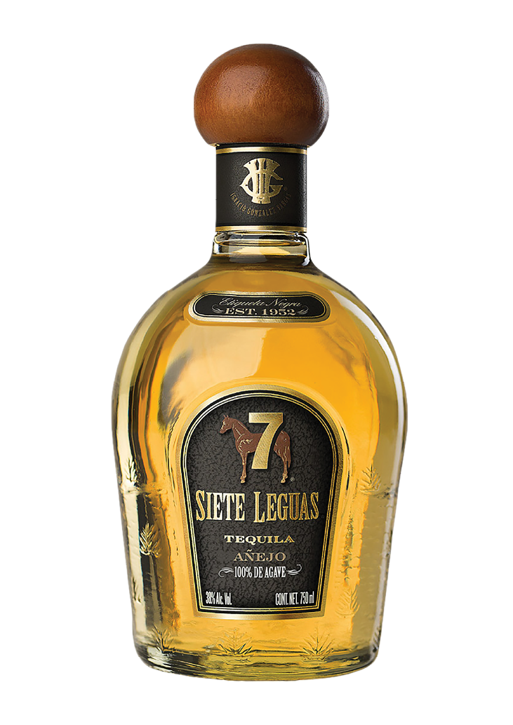 Tequila 7 Leguas Añejo 100% Agave - The Bottle Merchants