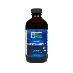 Green Pasture Blue Ice Fermented Cod Liver Oil
