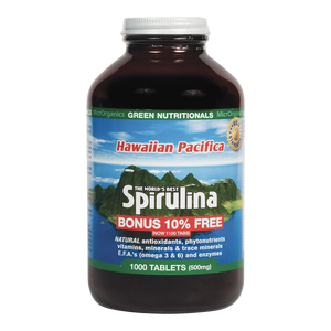 Green Nutritionals Hawaiian Pacifica Spirulina