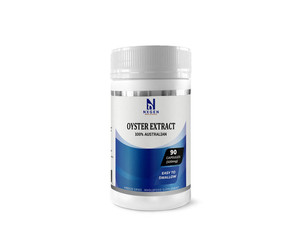 NXGEN OYSTER EXTRACT CAPSULES - SOURCE OF NATURAL ZINC