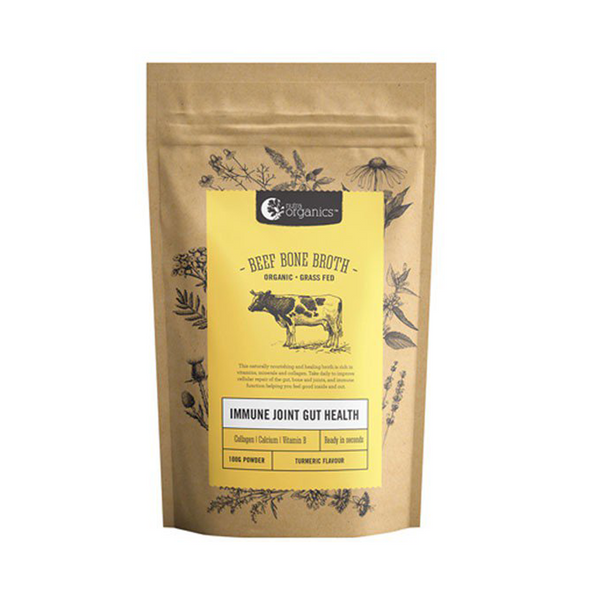 Nutraorganics BEEF BONE BROTH POWDER TURMERIC