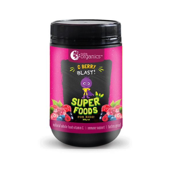 Nutraorganics C Berry Blast Superfoods Powder for Kids