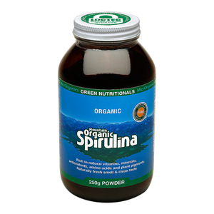 Green Nutritionals Mountain Organic Spirulina Powder