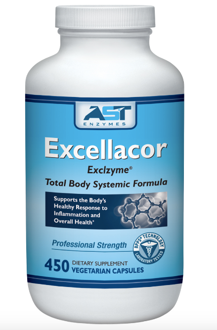 AST Enzymes Excellacor (Exclzyme) The Original Systemic Formula