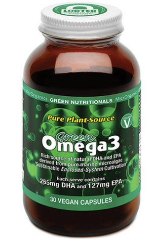 Green Nutritionals Pure Plant-Source GreenOMEGA 3