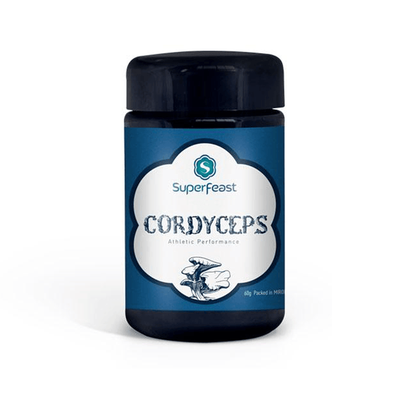 SuperFeast Cordyceps Mushroom Powdered Extract Vegan 60g