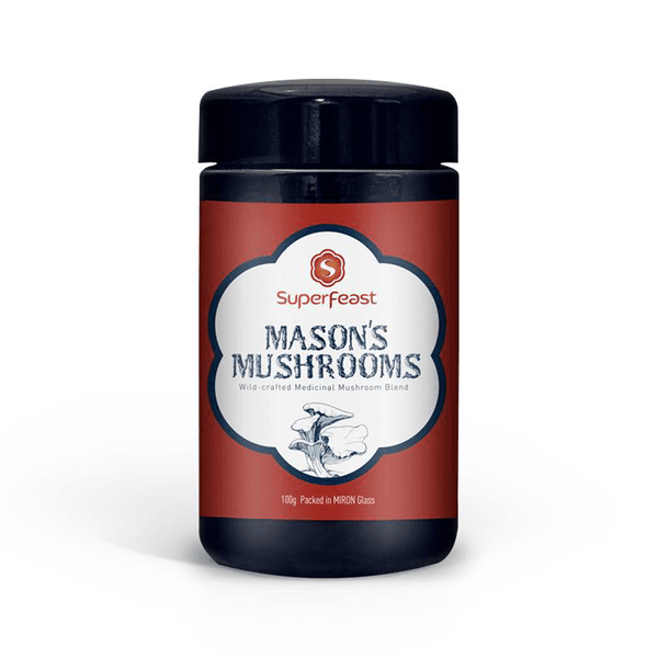 Superfeast  Mason's Mushrooms Powdered Extract Blend 100g