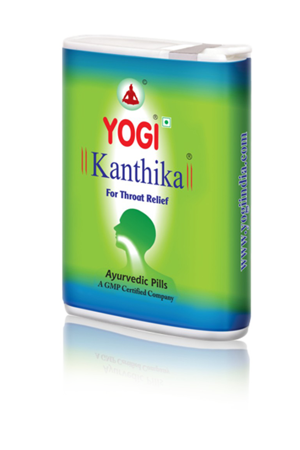 Yogi Kanthika throat relief medicine