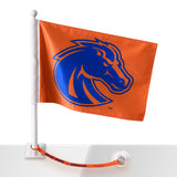 Boise State Car Flag w/Flag Saver (Orange)