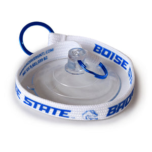 Flag Saver - Boise State Tether - White