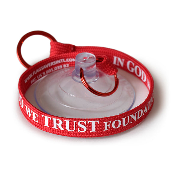 Flag Saver Tether - In God We Trust Foundation