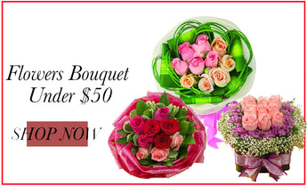 Flower Bouquet <$50