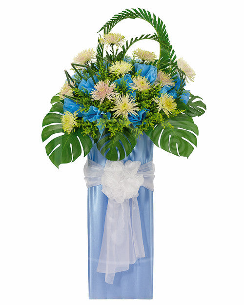 I DO Flowers & Gifts - Compassionately Cyan