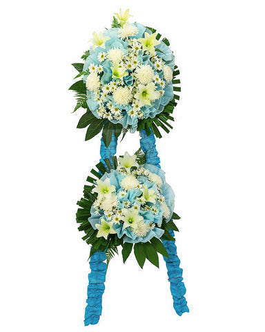 I DO Flowers & Gifts - True Blue Heaven
