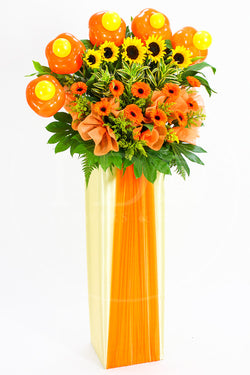 Sunrise Industry Congratulatory Flower Stand AGP 10
