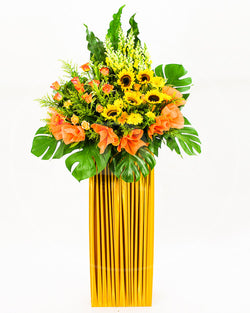 Splendour of Sunshine Congratulatory Flower Stand AGP 20