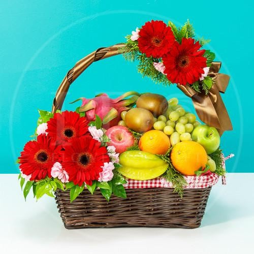 Fresh Cheers! Fruit Basket AGW11