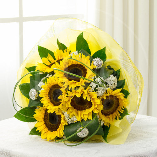 You're My Sunshine Sunflower Bouquet AHB 11