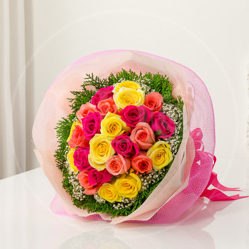Sweetly Together Roses Bouquet AHB 14