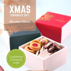 Corporate Gift - Santa's Bagful Cookie Mix (20pcs)
