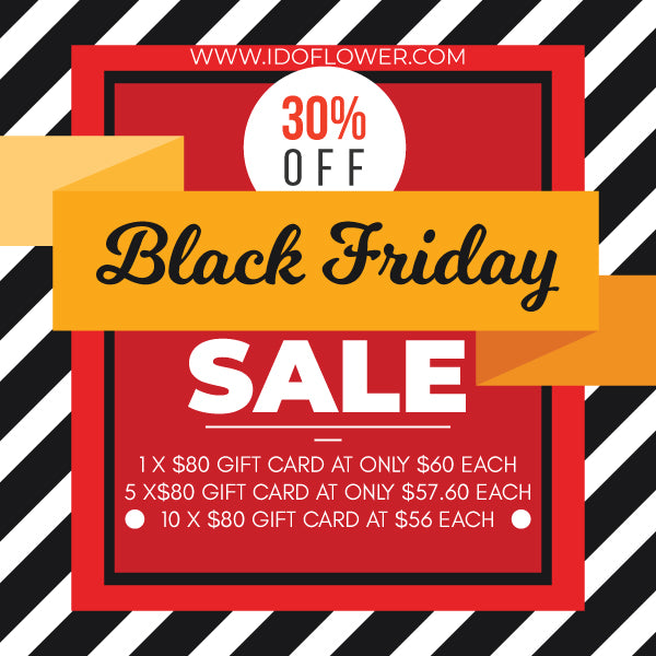 BLACK FRIDAY GIFT CARD SALE