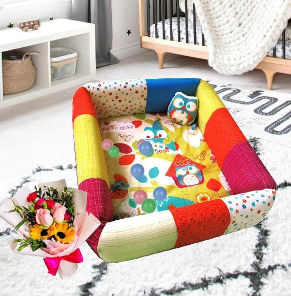 Comfort 2 In 1 Inflatable PlayMat ANB 17
