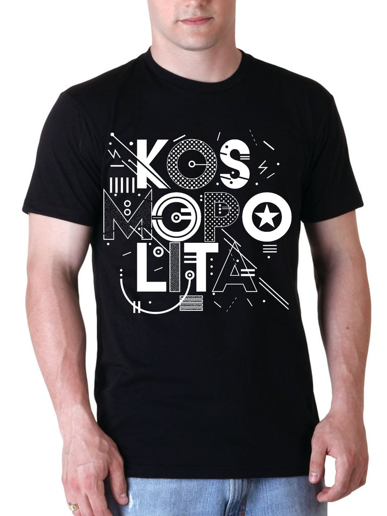 "Men's T shirt ""Kosmopolita"""