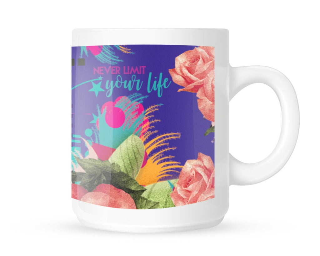 Gift for her Motivational mug Never Limit your Life