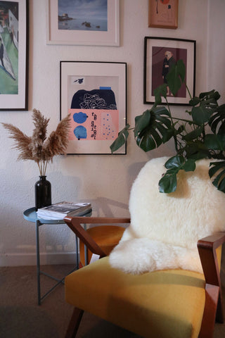 Decorating with pampas
