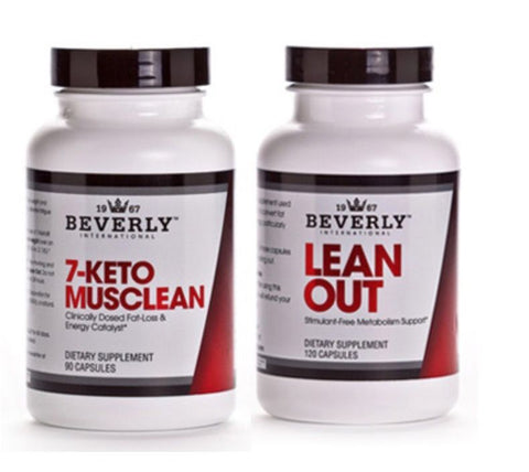 Beverly International Lean Out and 7 Keto Musclean Weight Loss Stack