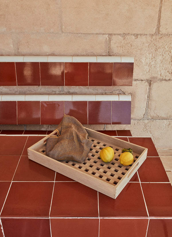 Fionia Tray 48x32cm Eik - Norway Designs
