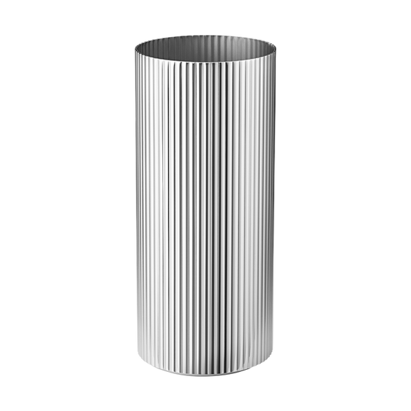 Georg Jensen Bernadotte Vase Medium Stål - Norway Deesi