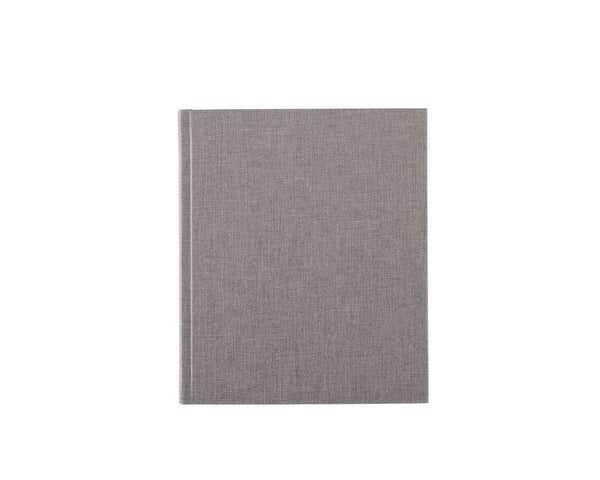 Bookbinders Notatbok 17x20cm Ulinjert Light Grey