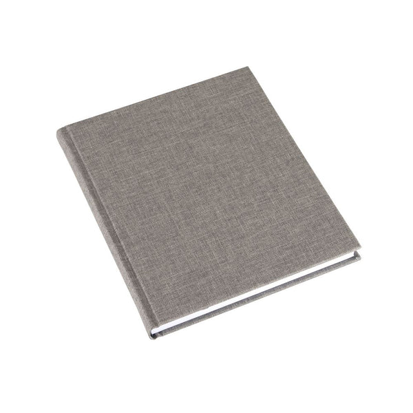 Bookbinders Notatbok 17x20cm Linjert Light Grey