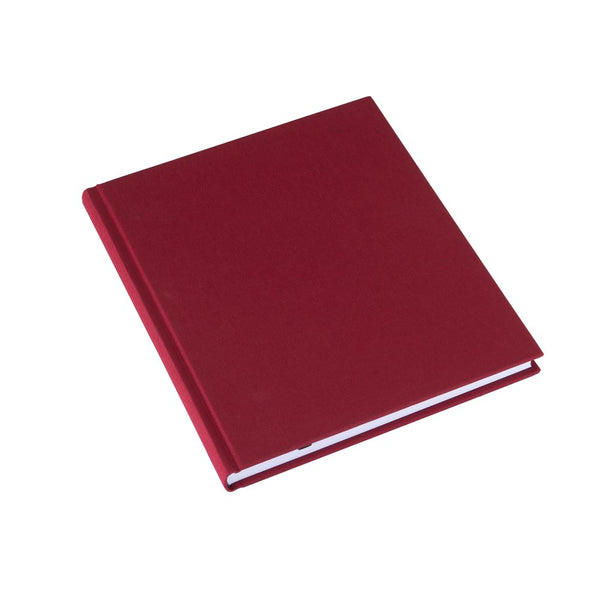 Bookbinders Notatbok 17x20cm Ulinjert Rose Red