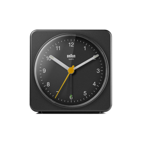 Braun Klassisk Analog Vekkerklokke BC03 Sort - Norway Designs