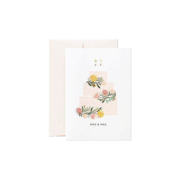 "Card Nest - ""Mrs & Mrs"" Kort - Norway Designs"