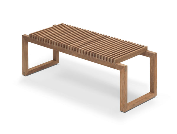 Cutter Benk 120 Teak 121x40x43,5cm - Norway Designs