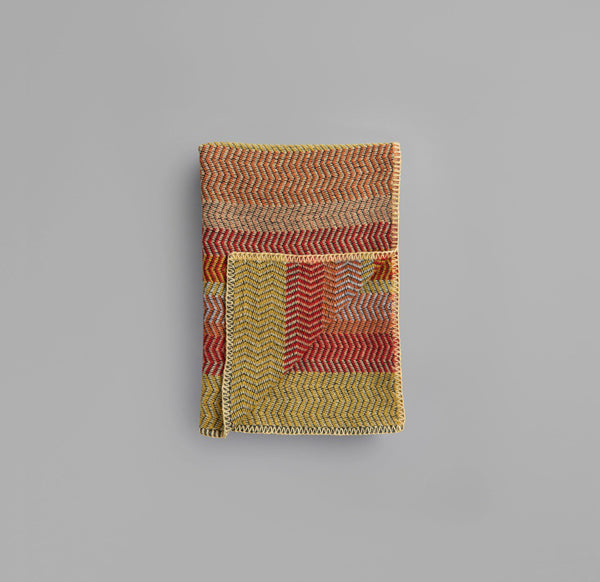 Røros Tweed Pledd Fri Summer Red - Norway Designs