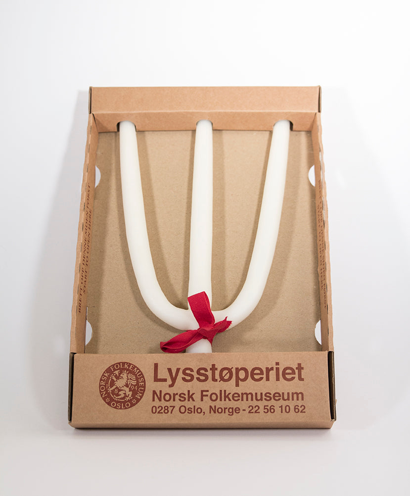 Lysstøperiet Hellige Tre Kongers Lys Medium - Norway Designs