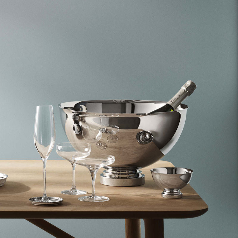 Georg Jensen Manhattan Champagnekjøler Ø40cm - Norway Designs