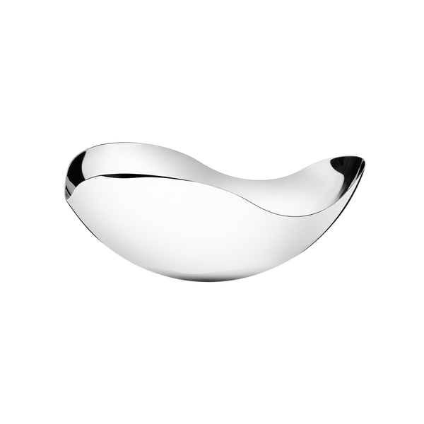 Georg Jensen Bloom Skål Liten 26cm Stål - Norway Designs