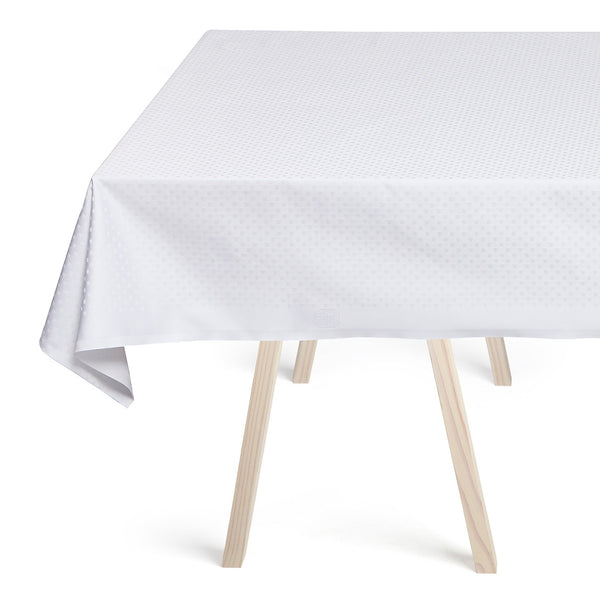 Georg Jensen Damask - Snøfnug Duk 165x450cm Hvit - Norway Designs