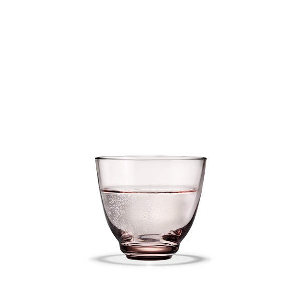 Holmegaard - Flow Drikkeglass Rosa - Norway Designs