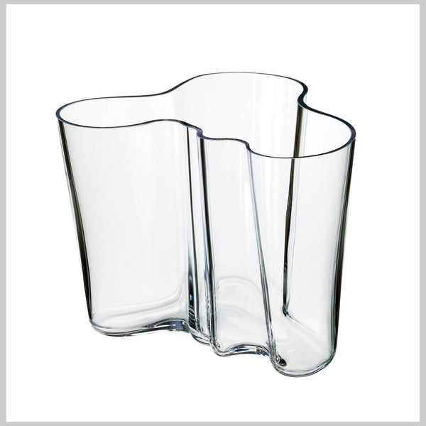 Iittala Aalto vase klar 160 mm - Norway Designs